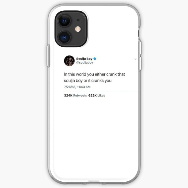 Soulja Boy Tweet iPhone Soft Case