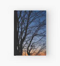 Winter eve Hardcover Journal