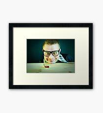 Nerd =) Framed Print