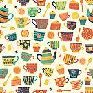 British Tea Tradition by Sandra Hutter