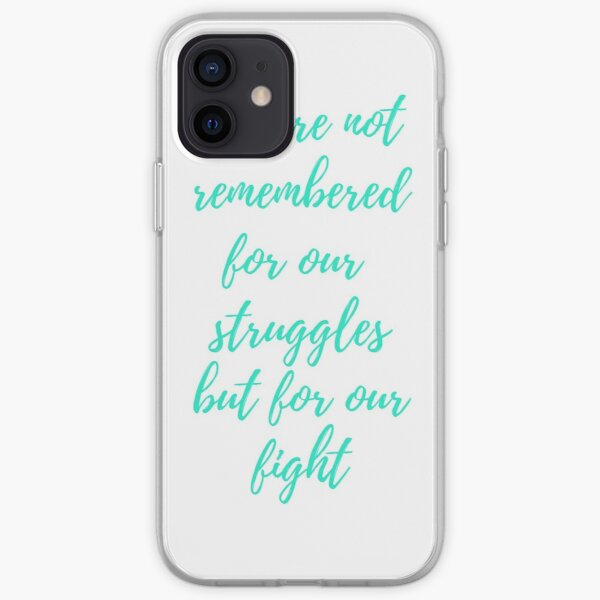 We are remembered... iPhone Soft Case