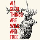 All good thihgs are wild and free by AAA-Ace