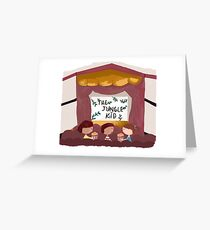 Cinema with friends Greeting Card