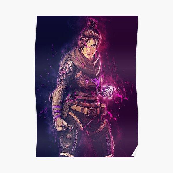 Apex Legends Poster Wraith - Affiche de jeu vidéo Poster