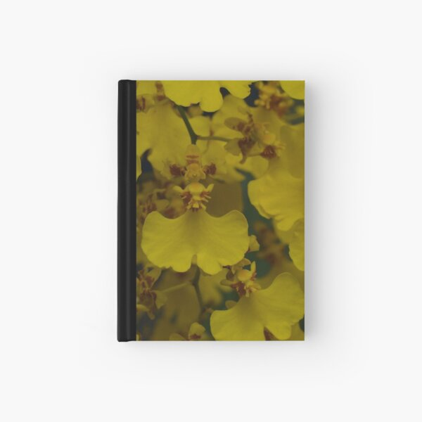 Spanish Dancing Ladies, Oncidium flexuosum Hardcover Journal