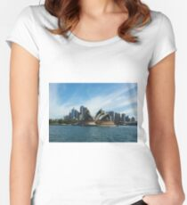 Opera House - Sydney Harbour Women's Fitted Scoop T-Shirt