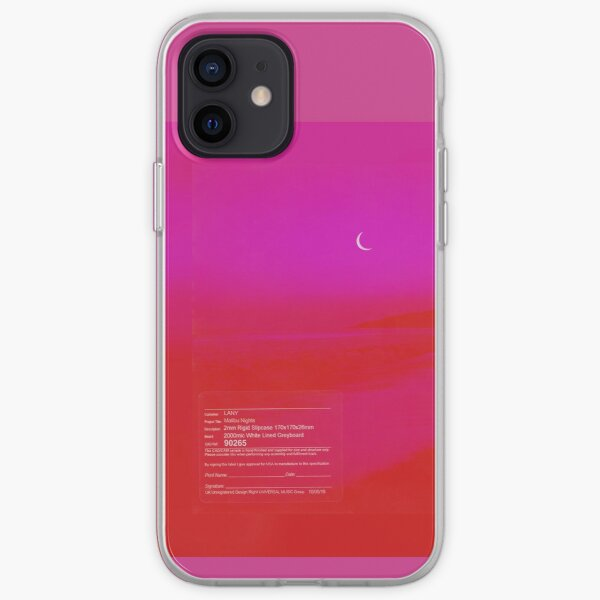 lany malibu nights iPhone Soft Case