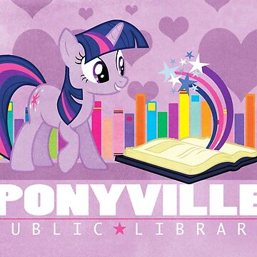 Ponyville Public Library by reidavidson