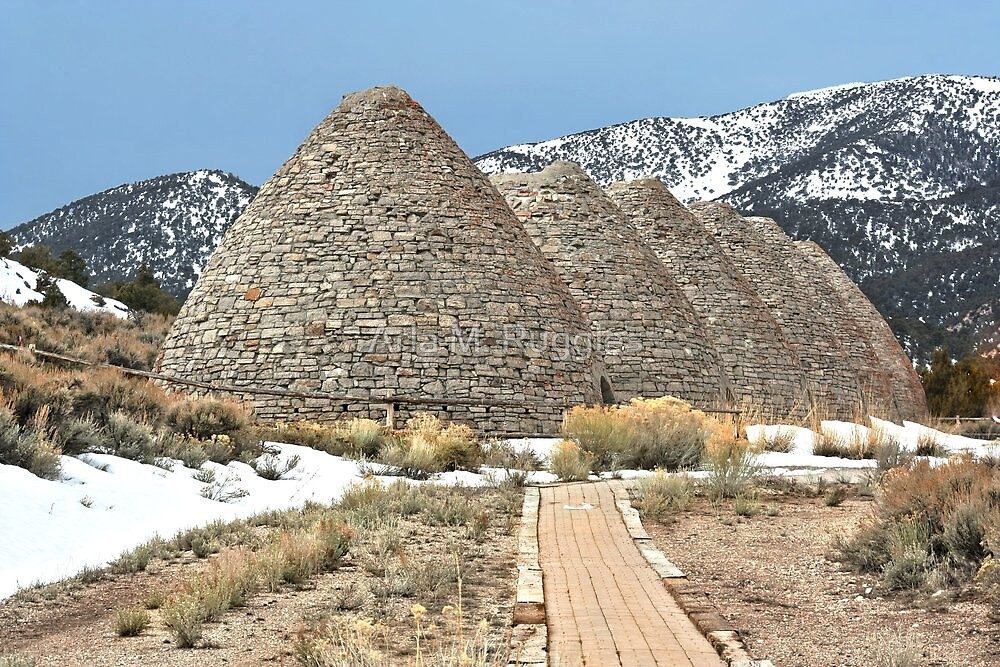 Ward Charcoal Ovens Historical  State Park by Arla M. Ruggles