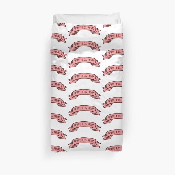 Ponte Las Pilas - Pink Ribbon Duvet Cover