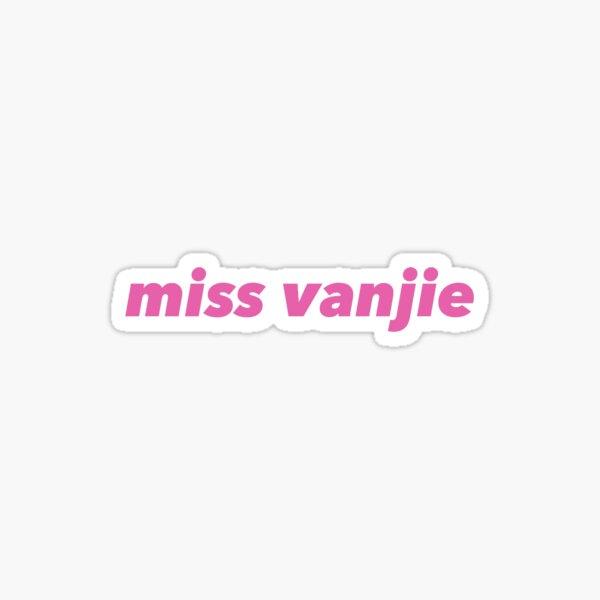 miss vanjie  Sticker