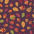 Fall Autumn Leaves by Sandra Hutter