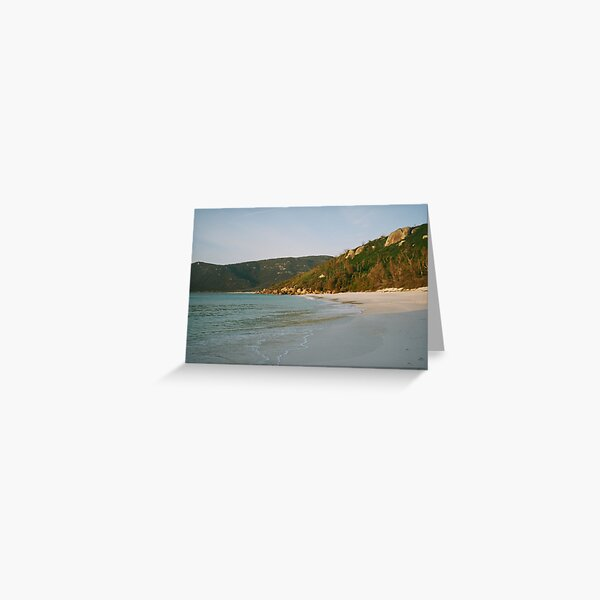 dawn at Little  waterloo bay ,  Greeting Card