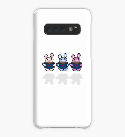 STPC: Three Chibis (Coffee) Case/Skin for Samsung Galaxy