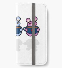STPC: Three Chibis (Coffee) iPhone Wallet/Case/Skin