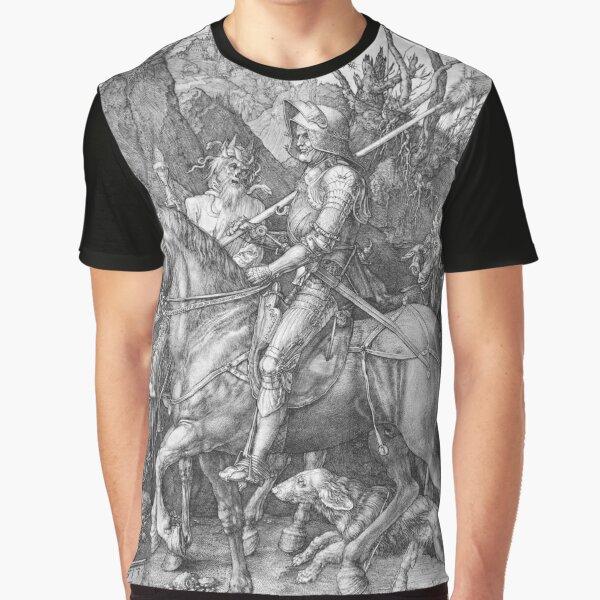 Albrecht Durer Knight Death & the Devil Graphic T-Shirt