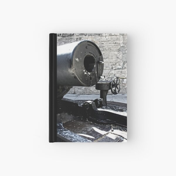 It Used To Go Boom Hardcover Journal