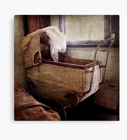 The Pram ~ Monte Cristo Canvas Print