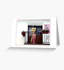 Cruise 2010 Spain   *Betty Boop in Spain* Greeting Card