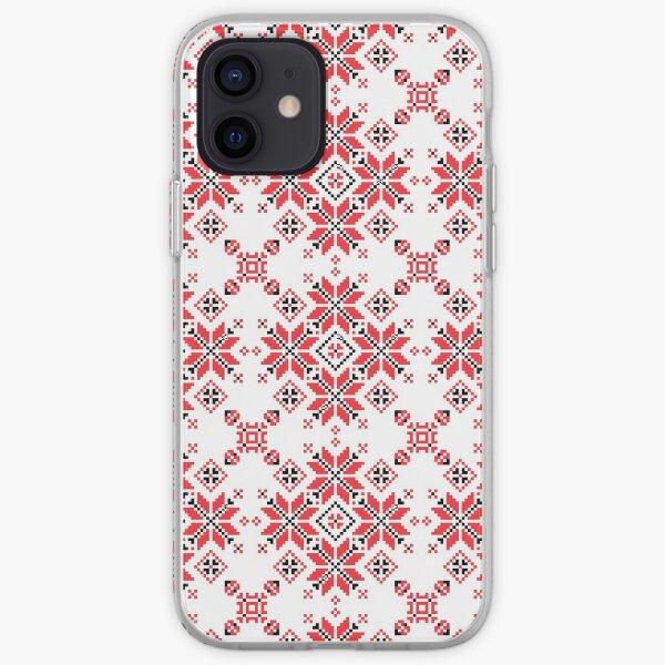 Ukrainian Pattern - Oberig Alatir star iPhone Soft Case