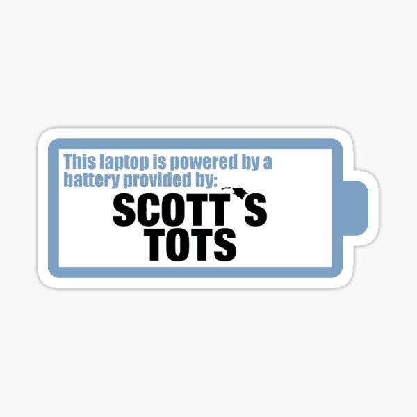 SCOTT'S TOTS BATTERY - THE OFFICE Sticker