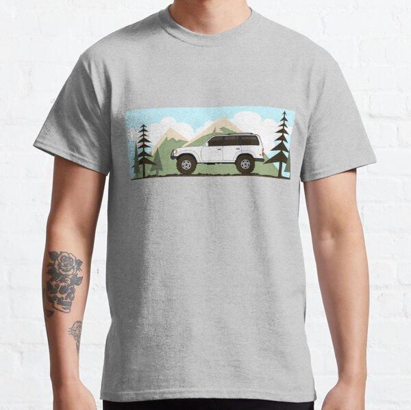 fj80 Land Cruiser retro Classic T-Shirt