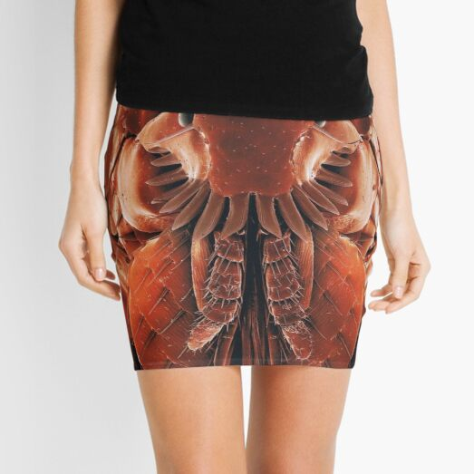 #Organism #Closeup #Wing #invertebrate biology science insect flea animal Mini Skirt
