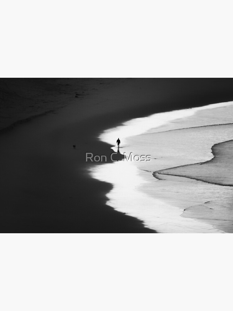 Walking The Tideline by ronmoss