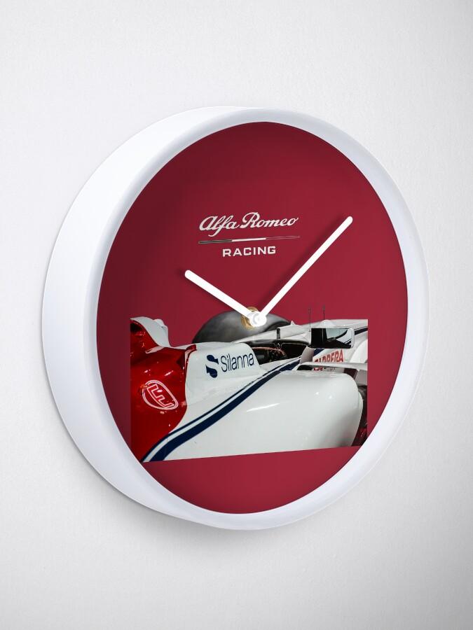 Alternate view of Alfa Romeo Racing Formula 1 Team Clock