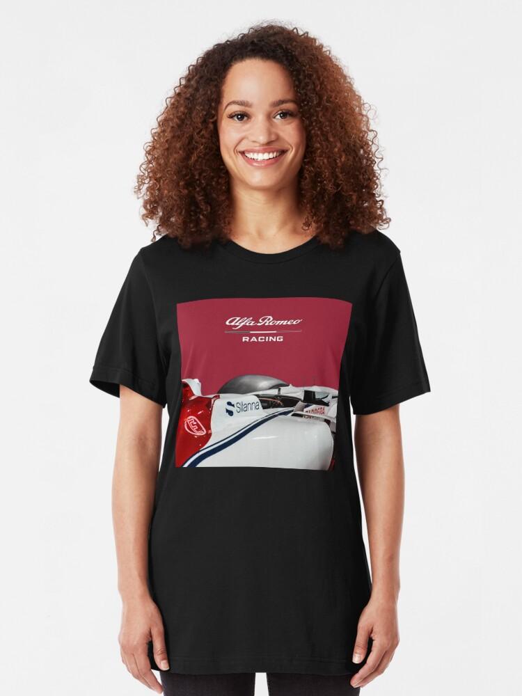 Alternate view of Alfa Romeo Racing Formula 1 Team Slim Fit T-Shirt