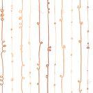 Rose Gold Twirl by Sandra Hutter