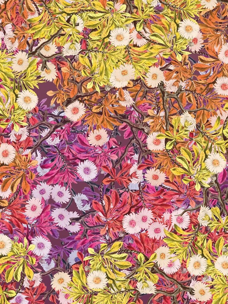 Floral Psychedelic Pattern by daltonrowe