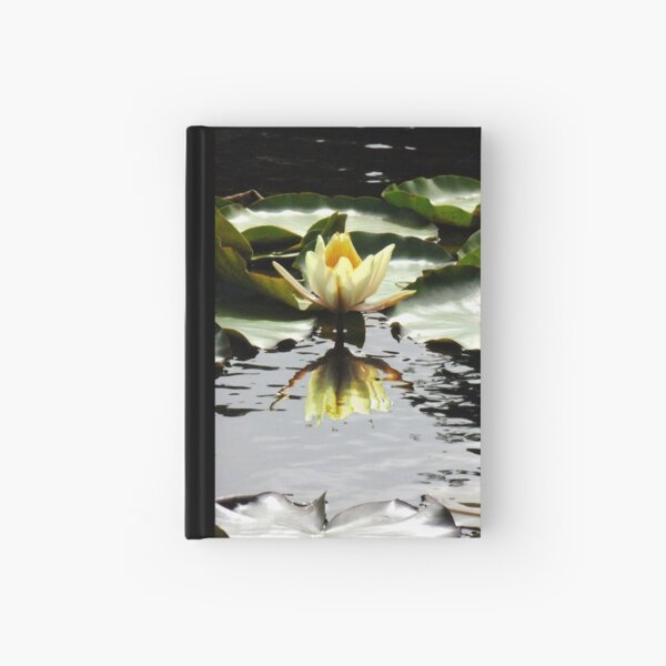 Waterlily Reflections Hardcover Journal