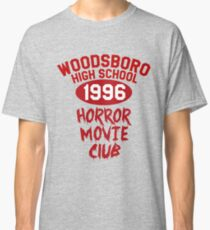 Woodsboro High Horror Movie Club 1996 Classic T-Shirt