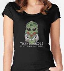 Thane Is My Space Boyfriend Women's Fitted Scoop T-Shirt