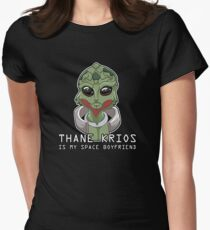 Thane Is My Space Boyfriend Womens Fitted T-Shirt