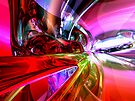 Runaway Color Abstract by Alexander Butler