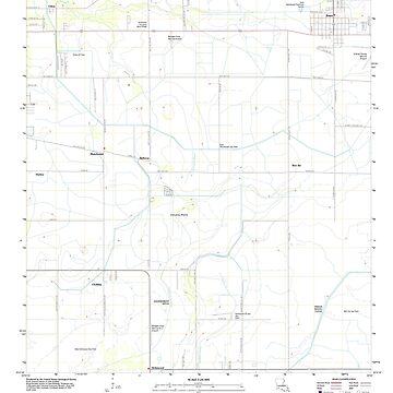USGS TOPO Map Louisiana LA Iowa 20120405 TM by wetdryvac