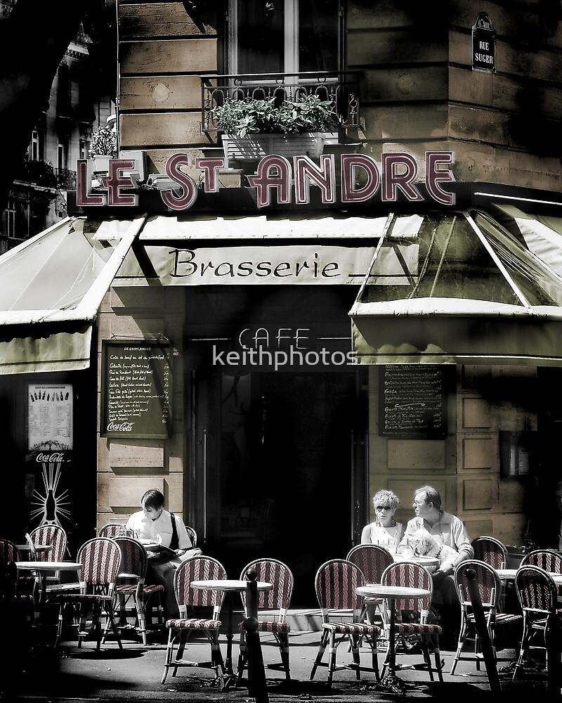 "Coffee Culture In Paris Street Scene"" By"