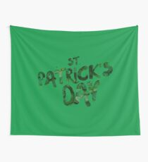 St Patrick's Day Wall Tapestry