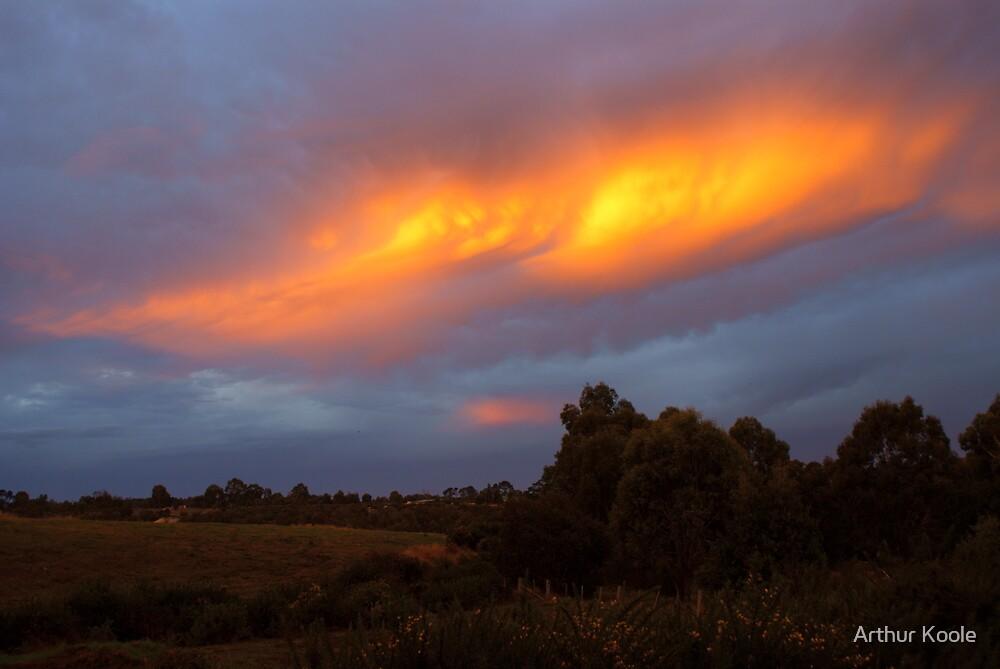 Sky Fire by Arthur Koole