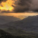 Light in the Valley - Blue Mountains World Heritage Area - HDR Experience by Philip Johnson