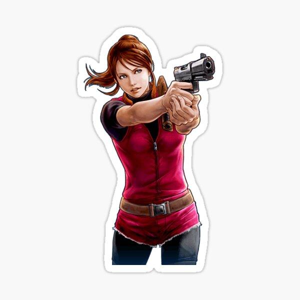 Resident Evil - Claire Redfield: Gun Survivor Sticker