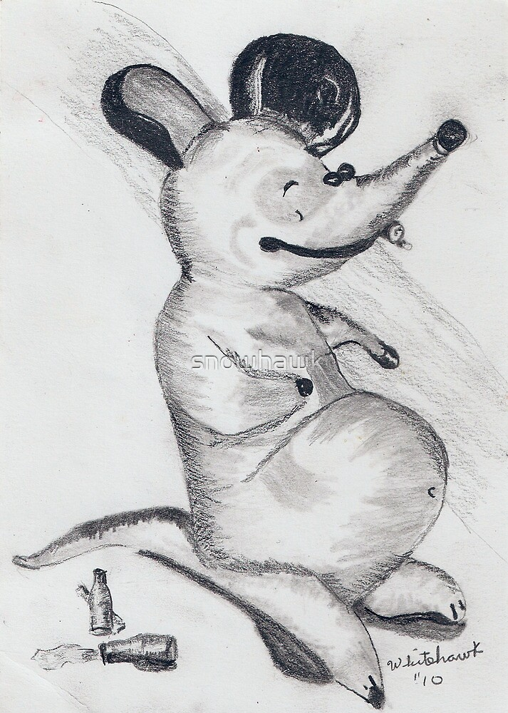 Fat Rat by snowhawk
