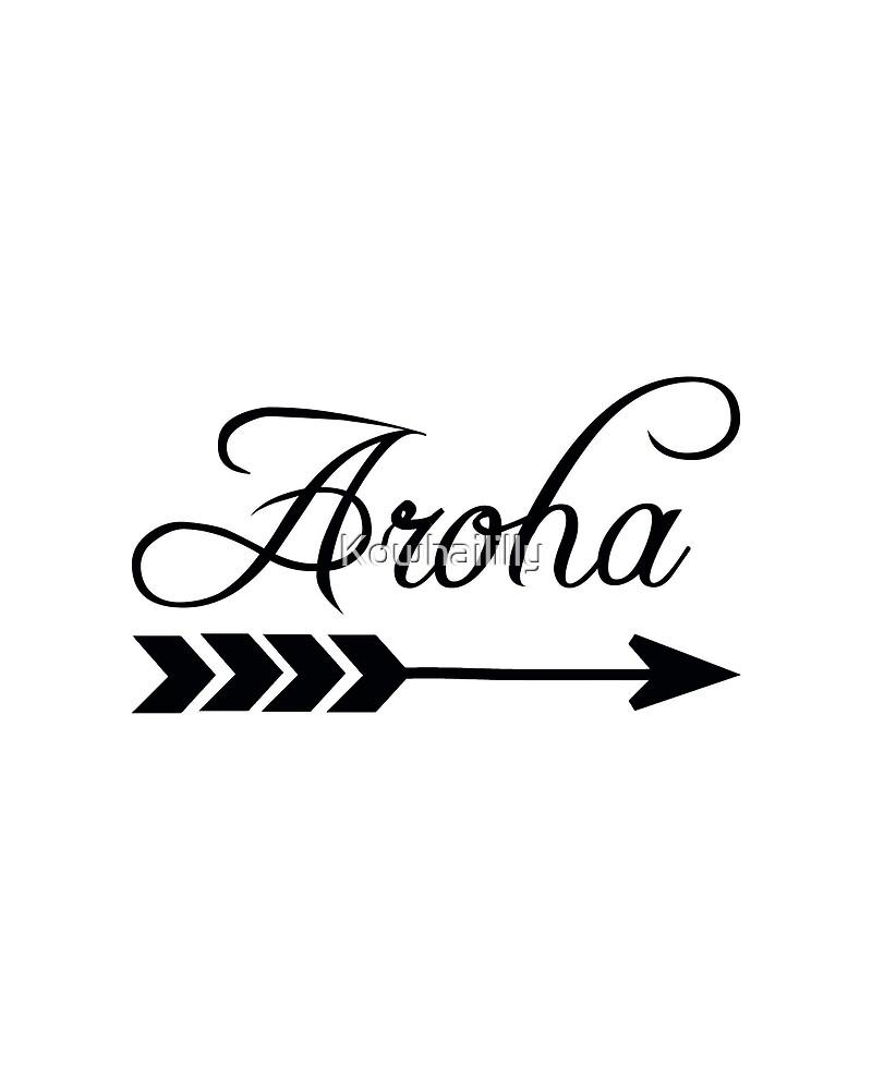 Aroha  by Kowhaililly