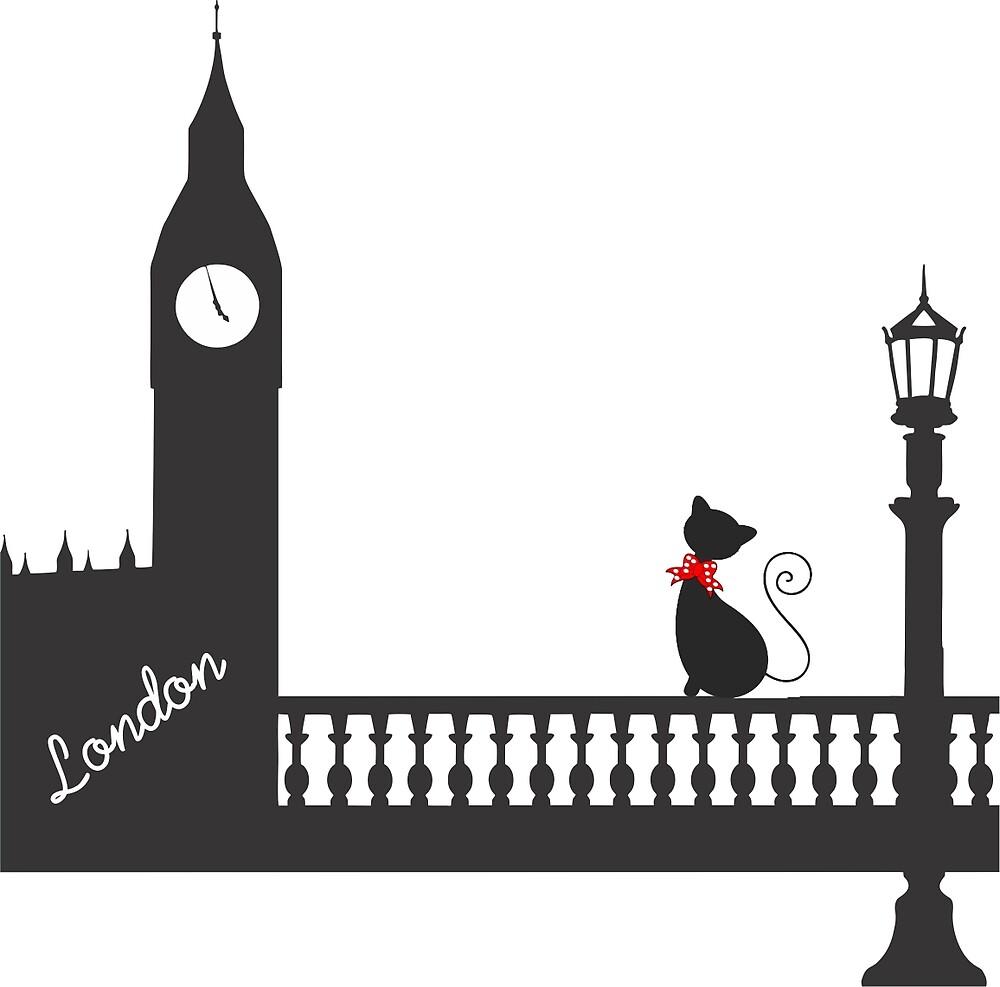 londoncat by alinaelizabeth