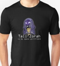 Tali is My Space Girlfriend Unisex T-Shirt