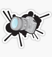 Canon 5DmkII Camera Splash Sticker