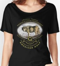 american wolf Women's Relaxed Fit T-Shirt