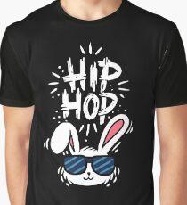 Hase Grafik T-Shirt